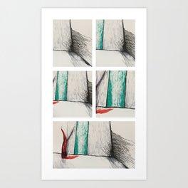 politics of dreams Art Print