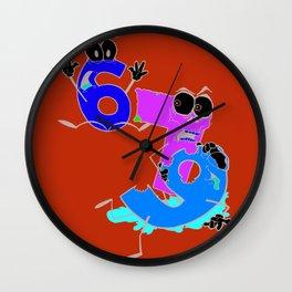Why 6 was afraid of 7  Wall Clock
