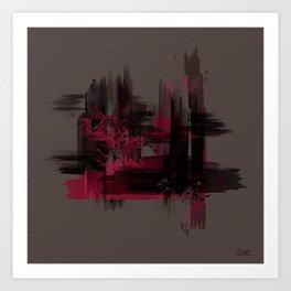 """Abstract Porstroke"" Art Print"