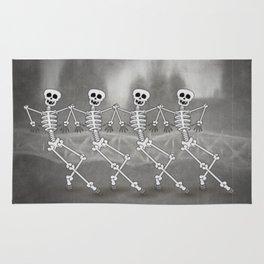 Dancing skeletons I Rug