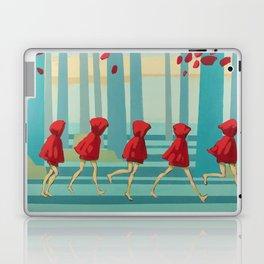 Five Little Riding Hoods I/III Laptop & iPad Skin