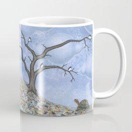 eastern box turtle in autumn Coffee Mug