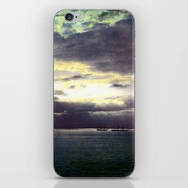 Vintage Sunset Waters : St Lawrence River 1901 iPhone Skin