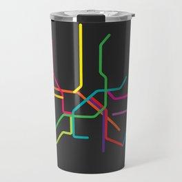 rome metro map Travel Mug