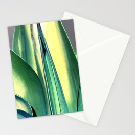 Lyrical Leaves In Meditative State of Flow Stationery Cards