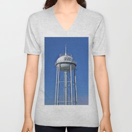 Holden Beach Water Tower Unisex V-Neck