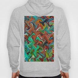 Trippy Wave Pattern Hoody