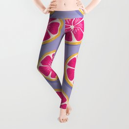 Grapefruit pattern 04 Leggings