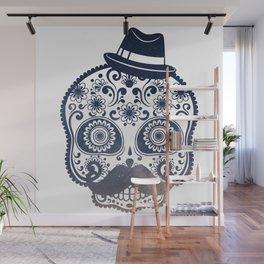 Mr. Sugar Skull Wall Mural