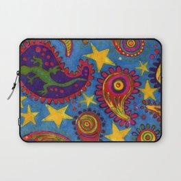 Lizard Paisley Batik Laptop Sleeve