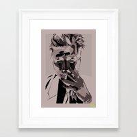lynch Framed Art Prints featuring Lynch by Batcat