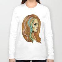 ultraviolence Long Sleeve T-shirts featuring Ultraviolence by Christina Dedic