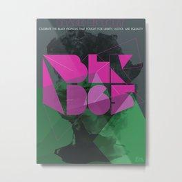 BLK365 - Africa Metal Print