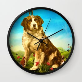 Our Giant Mascot Wall Clock