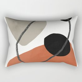 contemporary rocks Rectangular Pillow
