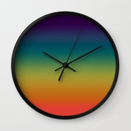 Prism ~ Rainbow 2017 Wall Clock
