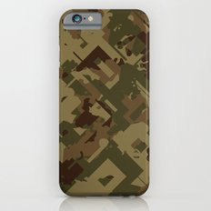 Camouflage Chaos Slim Case iPhone 6s