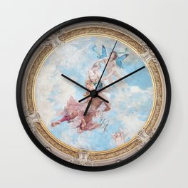 Painted Cathedral Dome  Wall Clock