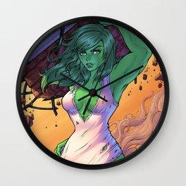 She Hulk Wall Clock