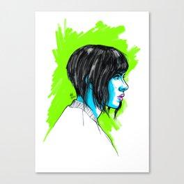 The Major Canvas Print