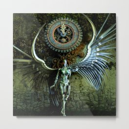 The Last Shadow Of The Time Metal Print