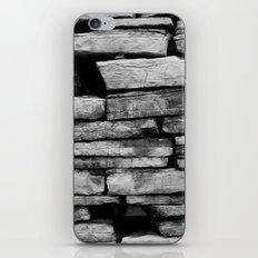 stone wall iPhone & iPod Skin
