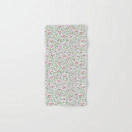 Winter Berries in Gray Hand & Bath Towel