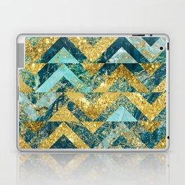 Marble Glitz Laptop & iPad Skin