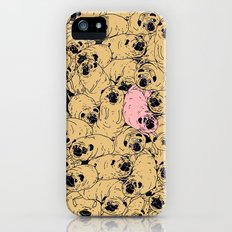 a lot a of pugs Slim Case iPhone (5, 5s)