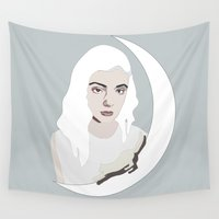 dreamer Wall Tapestries featuring Dreamer by Anna McKay