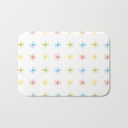 Dot asterisks Bath Mat
