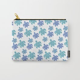 Turtle Pattern Carry-All Pouch