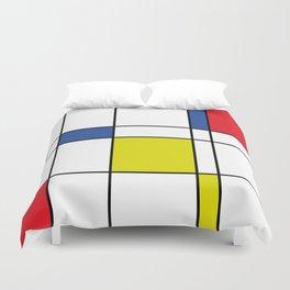 Mondrian 1 Duvet Cover