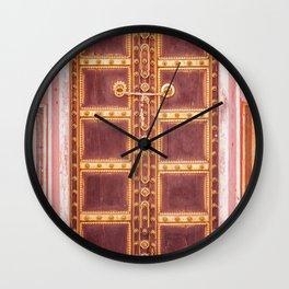 Jaipur Palace Door Wall Clock