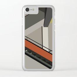 Stairway in bauhaus Dessau Clear iPhone Case
