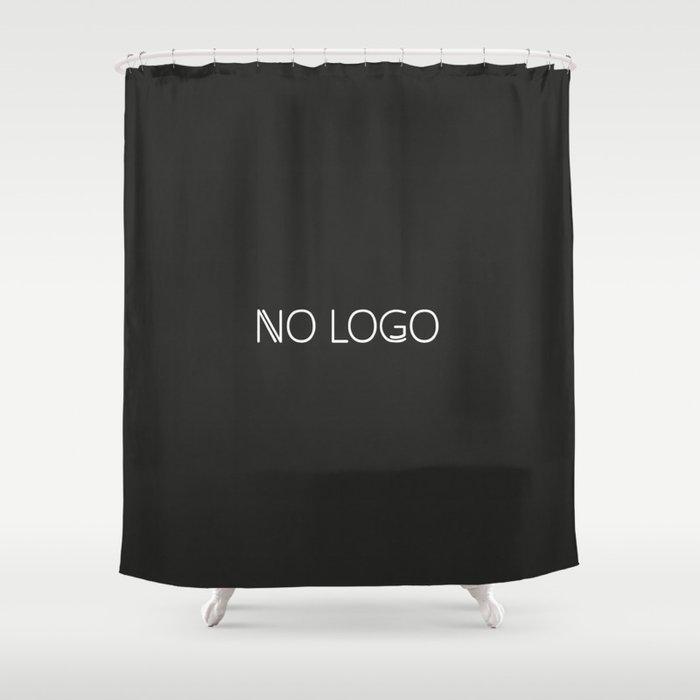 no logo Shower Curtain