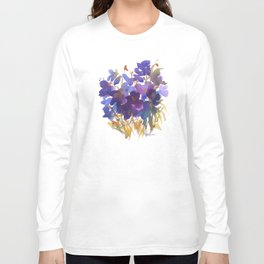 Petite Violets Long Sleeve T-shirt
