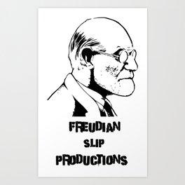 Freud Art Print