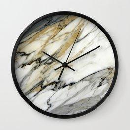 Carrara Marble Wall Clock