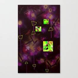 King Nothing And The Discovery Of The Lost Venus (For SAMO) Canvas Print