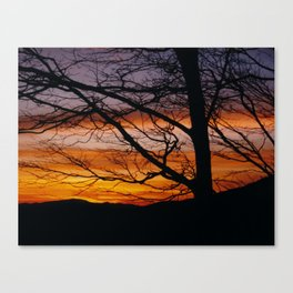 Raven Rock Canvas Print