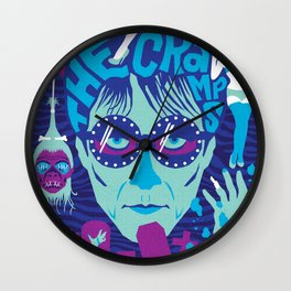 THE ROOTS OF HORROR ROCK :: THE CRAMPS Wall Clock
