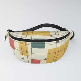 Mid-Century Modern (gold) Fanny Pack