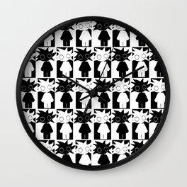 N&B Wall Clock