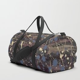 New York. Graffiti, Abstract, Blue, Purple, Pollack, Jodilynpaintings, Splatter Duffle Bag