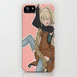 The Golden Stair Job iPhone Case