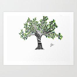 The Small Tree... Art Print