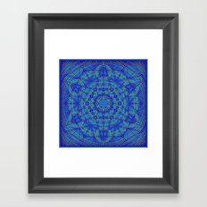Geometraglyph IV Framed Art Print
