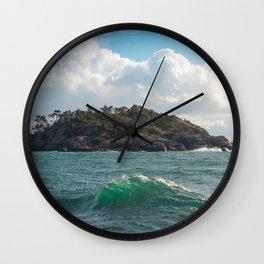 PORTRAIT OF SECRETARY ISLAND, BC TROPICS 2K16 Wall Clock