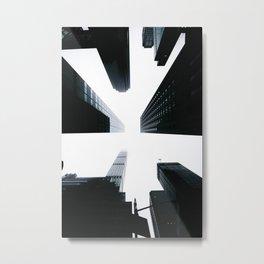 Lookup Metal Print